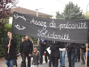 Suppression de postes - Manif le 16/10 à Lavaur 4733